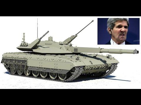 Новейший российский танк Армата (Т14) вверг иностранцев в ШОК!