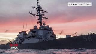USS John S. McCain Collides With Merchant Ship Near Strait of Malacca