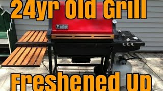 Restore Weber Grill - Weber Genesis