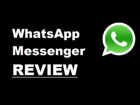 Application Review: Whatsapp Messenger video