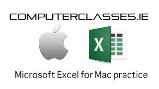 Microsoft Excel 2016 for Mac OS X Full tutorial