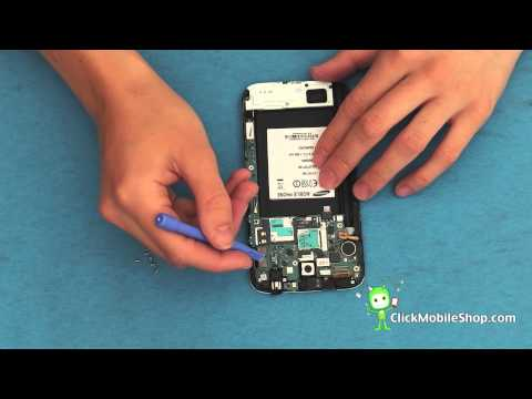 Samsung Galaxy Note 2 Disassembly GT-N7100