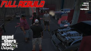 REBUILDING BIGGINS TURBO IROC & MORE | SHOP DAYS | FIVEM | WILD SIDE RP
