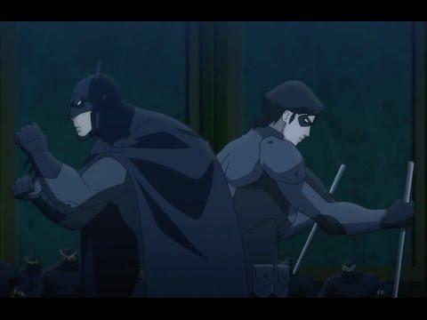 Бэтмен и Найтвинг против Суда Сов