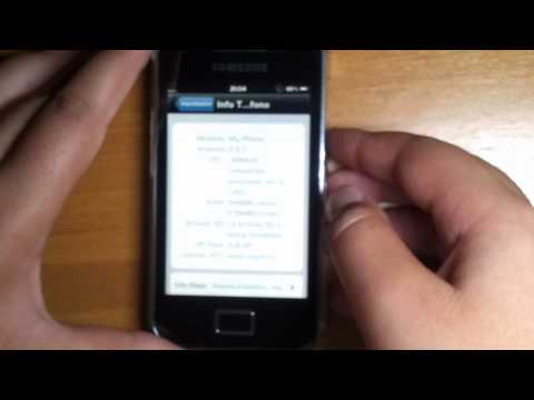 iOS 5 ROM on Samsung Galaxy ACE - iPhone Style HD
