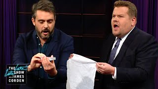Audience Member Upstages James Corden's Magic Trick