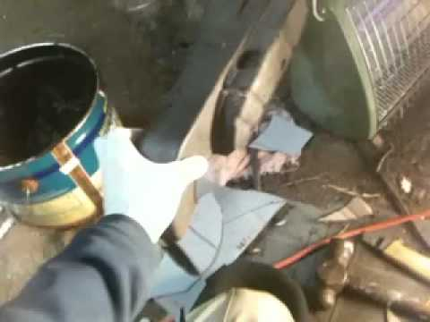 1999 Subaru Forester Rear Wheel Well Rust Holes Repaired