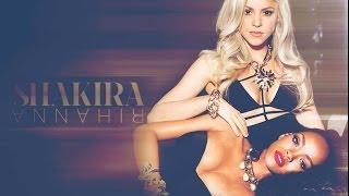 Shakira Ft. Rihanna Nunca me acuerdo de olvidarte (Spanish version Can't remember to forget you)