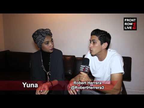 Yuna Talks Maxwell, lights & Camera And Touring W  robertherrera3 video