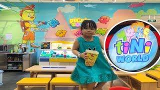 Review Khu Vui Chơi tiNiWorld Coopmart Lý Thường Kiệt   SauSoc TV