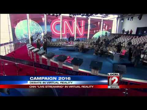CNN will Live Stream Democratic Debate in virtual reality