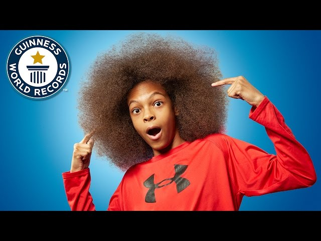 Largest Male Afro - Guinness World Records