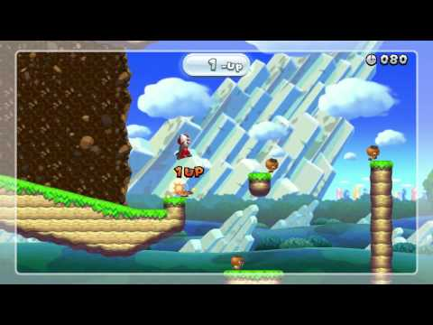 New Super Mario Bros. U - Gold Medal replays for all 80 Challenges