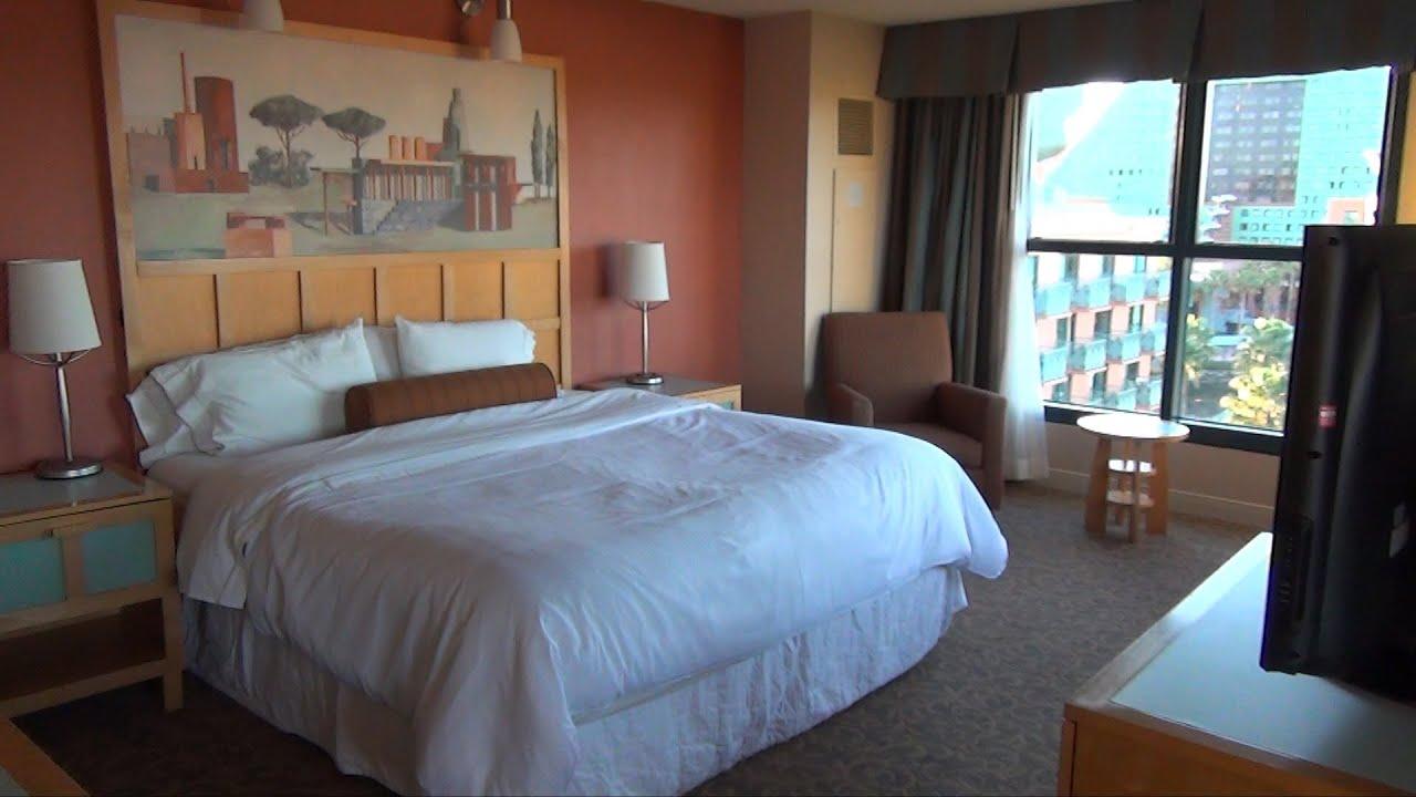 Walt Disney World Swan Junior Alcove Suite Tour Room 843