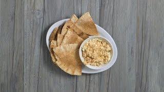 How to Make Flatbread & Hummus Delight