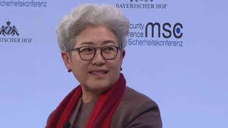 Senior Chinese official talks on Korean Peninsula at Munich Security Conference