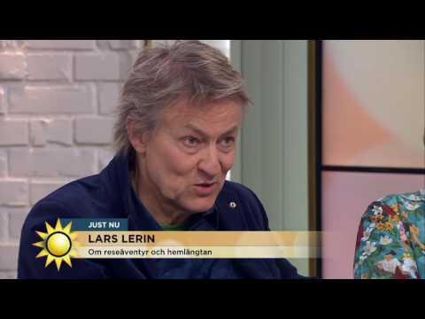 """Lars Lerin: """"Det är häftigt att möta sina rädslor, men man blir trött"""" - Nyhetsmorgon (TV4)"""