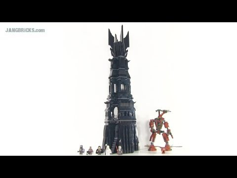 LEGO Tower of ORTHANC Review! Lord of the Rings set 10237