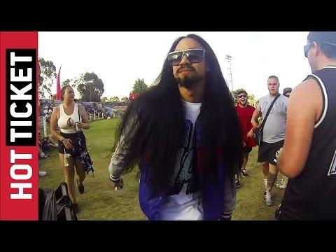 Steve Aoki Impersonator Trolls Everyone at Stereosonic || JukinVideo Hot Ticket