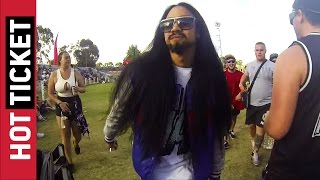 Steve Aoki Impersonator Trolls Everyone at Stereosonic || JukinVideo Hot Ticket