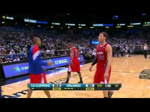 Los Angeles Clippers vs Orlando Magic Recap 2.6.12