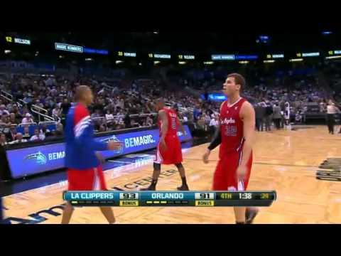 Los Angeles Clippers vs Orlando Magic Recap 2.6.12