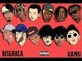 Download DISGRAÇA GANG - Young Mascka, Aka Rasta, Mc Igu, DaLua, Klyn, Derek, Denov, Pimpo$o e mais