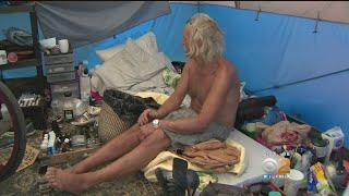 Anaheim Homeless Encampment Gets Eviction Notice