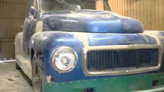 Volvo Duett A-traktor bygge