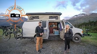 Ultimate DIY Camper Van ~ Pop Top, Bathroom & Shower Built In