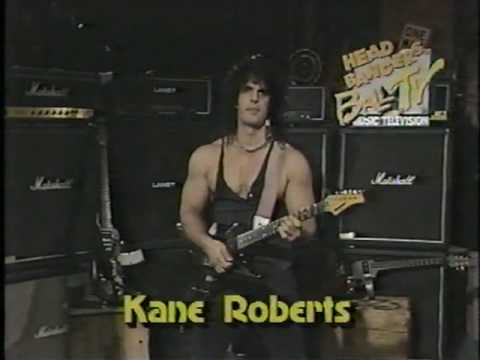 KANE ROBERTS ALICE COOPER MTV HEADBANGER'S BALL, I'M 18 VIDEO