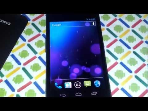 Unboxing español Samsung Galaxy Nexus Telcel(1080p)