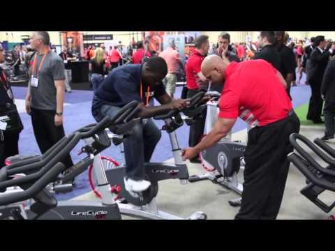 Life Fitness на выставке IHRSA 2013. День первый.