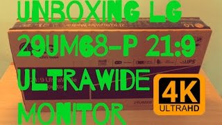 Unboxing LG 29UM68-P 21:9 UltraWide Monitor [iPhone6S+] + WoT Demo