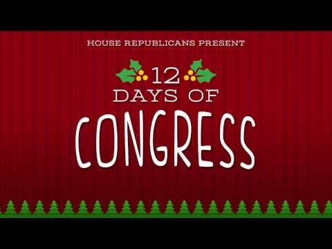 Day 12 of House Republicans' 12 Days of Congress