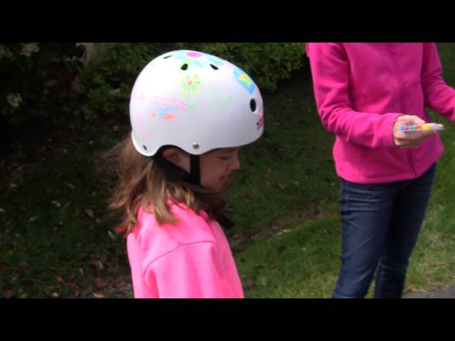 Wipe Out Dry Erase Bike Helmets