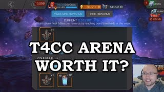 T4CC Arena Analysis | Marvel Contest of Champions