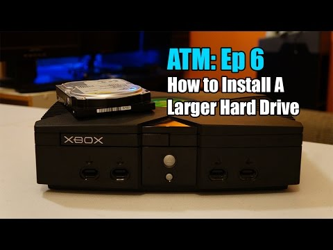 How To Install A New Hard Drive On An Original Xbox ATM Ep: 6