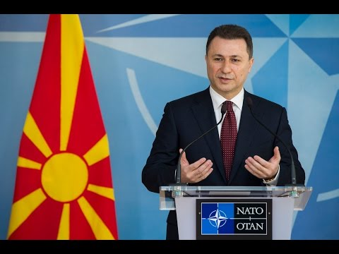 NATO Secretary General with Prime Minister of Former Yugoslav Republic of Macedonia, 11 MAR 2015