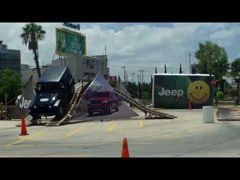 Increíble Pista de pruebas Jeep. Chrysler prestige león gto. 2012
