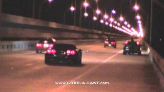 Nitrous SBC Firebird vs 540whp Civic and 500whp EVO MR - KOTS RACES: GRAB-A-LANE.COM