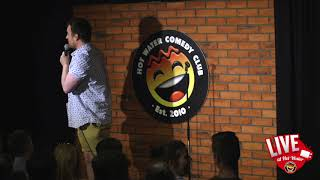 Tom Evans   LIVE at Hot Water Comedy Club