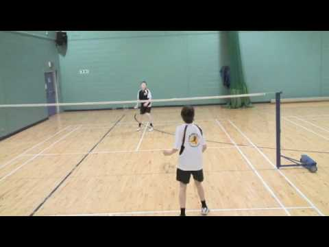 Badminton at the Glasgow School of Sport - Part 1