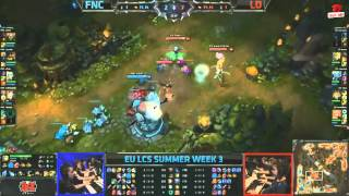 Video clip [LCS EU Mùa Hè 2013] [T3 - N2] Fnatic vs Lemondogs [30.06.2013]