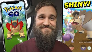 THE SEARCH FOR SHINY TERRAKION! (Shiny Legendary Raids) - Pokemon Go
