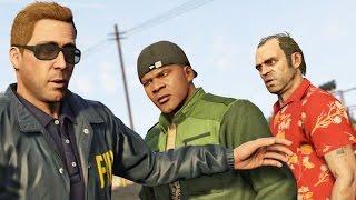Grand Theft Auto 5 (GTA V) - Начало игры на PC