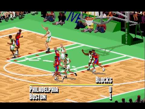 IE 16 PC games review - NBA live 95 (1995)