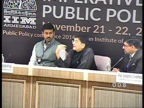 Prof Dheeraj Sharma in conversation with Hon'ble Mr. Piyush Goyal, Minister, GOT, Part 1