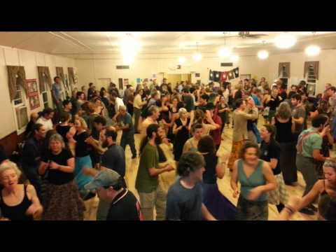 Contra dance at Capital City Grange, Montpelier VT