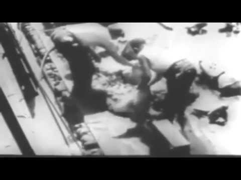 WW2 film: Salvage Of The U.S.S. Lafayette (full)